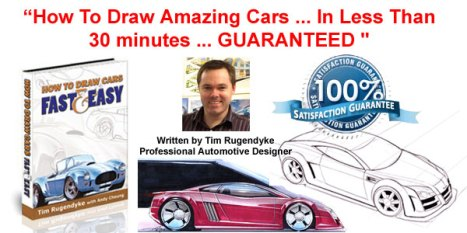 Learn to draw your favourite cars as a world expert teaches you the pro secrets. Turn your interest into an income stream
