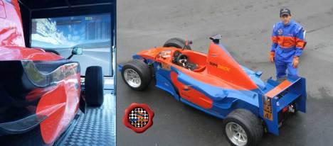 Blurring real world and virtual racing in the PET250 model car