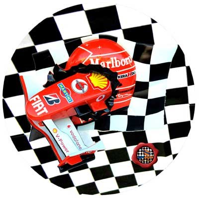 Ferrari f1 car 6 professional formula one simulator for F1 car cake template