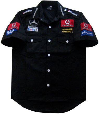 F1 mercedes benz mclaren pit shirt professional formula for Mercedes benz wear