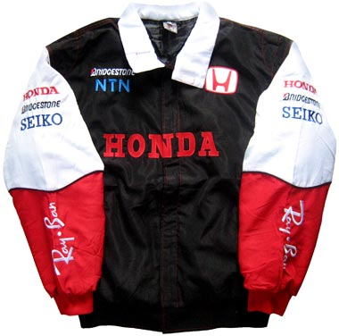 Formula 1 Honda Team Jacket Professional Formula One Simulator