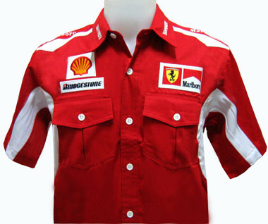 Fi Ferrari Team Shirt Professional Formula One Simulator