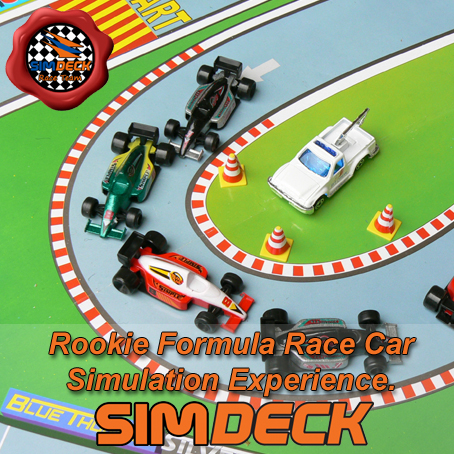 The perfect event for a fun and entertaining experience where you get to be in the hot seat in a Formula styled race car simulator.