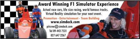 The SimDeck Experience is ideal for a gift, entertainment fun day out and even training