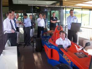 This event for the Ak ICT Cluster brought together a number of technology business owners to race in the SimDeck simulator