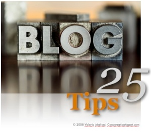 Start a business blog today, as they will become the next must have communication tool for companies.
