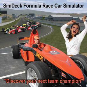Rear Cars, Real Teams Virtual Tracks all come together in your SimDeck GP