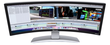 "Ostendo Curved 43"" Seamless Monitor"